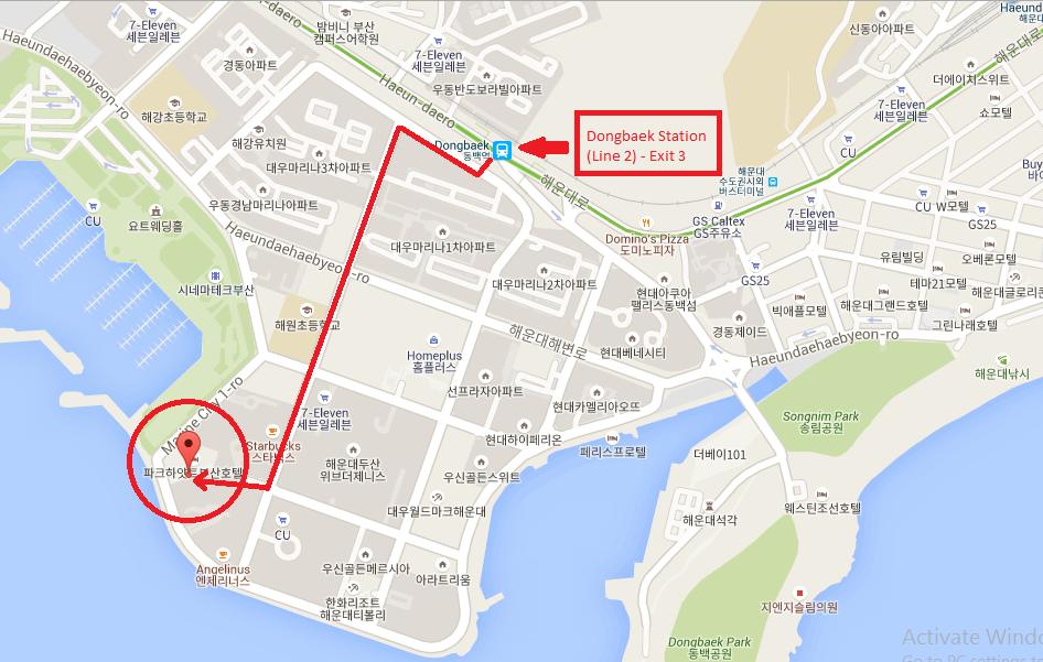 I-Park Marina in Busan