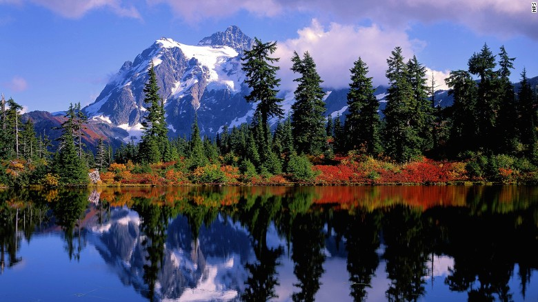 In spite of its beauty, North Cascades National Park attracted just 24,000 visitors in 2014 - One of the best places to travel in 2017