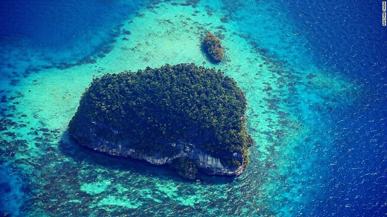 Palau's Rock Islands are a UNESCO World Heritage site- One of the best places to travel in 2017