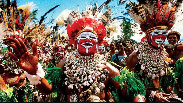 Papua New Guinea's festivals are a highlight of any visit - One of the best places to travel in 2017