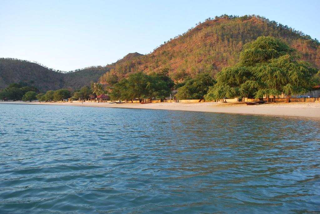 Areia Branca beach near Dili (Photo: Simon Roughneen)