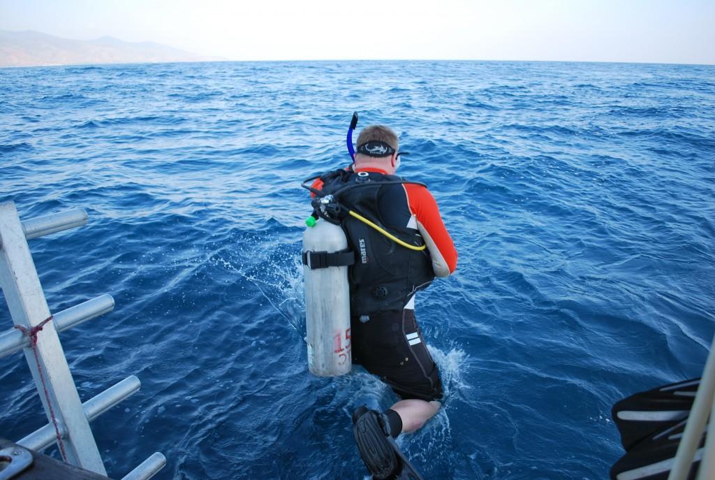Diving near Tibar